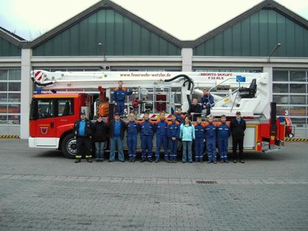 Besuch der Feuerwache 1 Wetzlar 18.11.2006