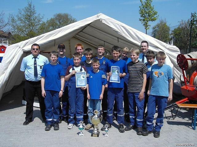 Jugendfeuerwehrwettkampf Mai 2006