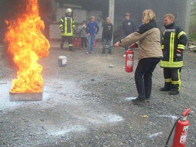 Tag der offenen Tür 13. Mai 2010  unter dem Motto: Feuerwehr zum Anfassen