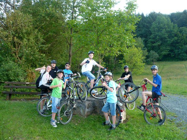 Fahrradtouren der Jugendfeuerwehr am 27.06.2011 und 04.07.2011