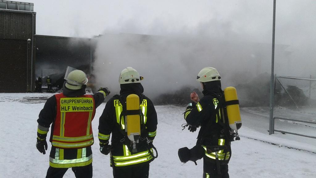 Brand Kompostierungsanlage Gräveneck
