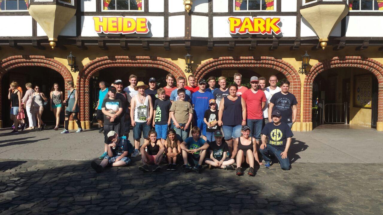 Gruppenbild Heidepark 2015